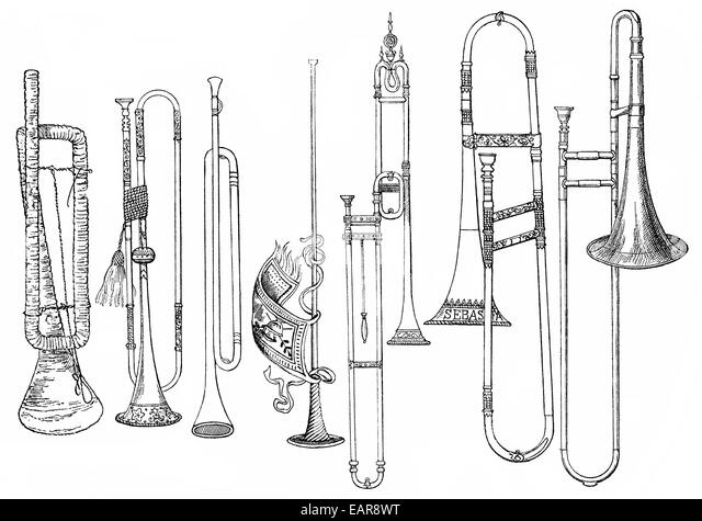 Ancient Musical Instruments Stock Photos & Ancient Musical