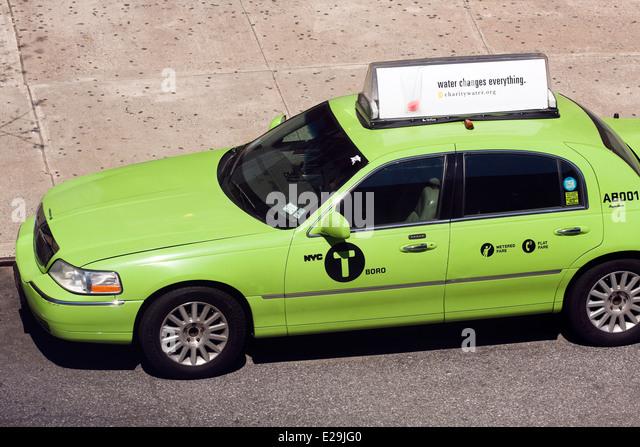 Lincoln Town Car Taxi Cab
