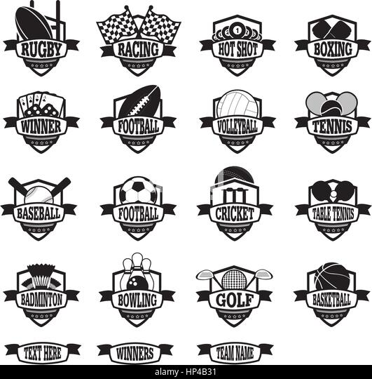 Football Club Badges Stock Photos & Football Club Badges