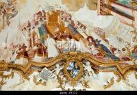 Churches Church Ceiling Painting Stock Photos & Churches ...