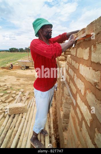 Zimbabwe Africa Village Villages Stock Photos & Zimbabwe