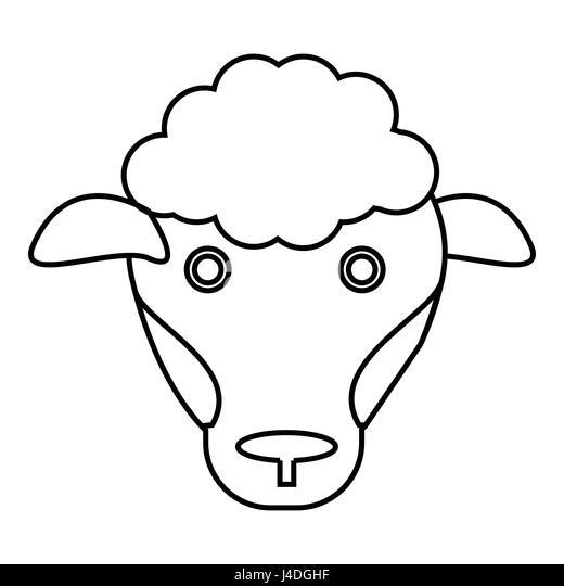 Tough Bull Mascot Face Stock Vector Image Of Horned