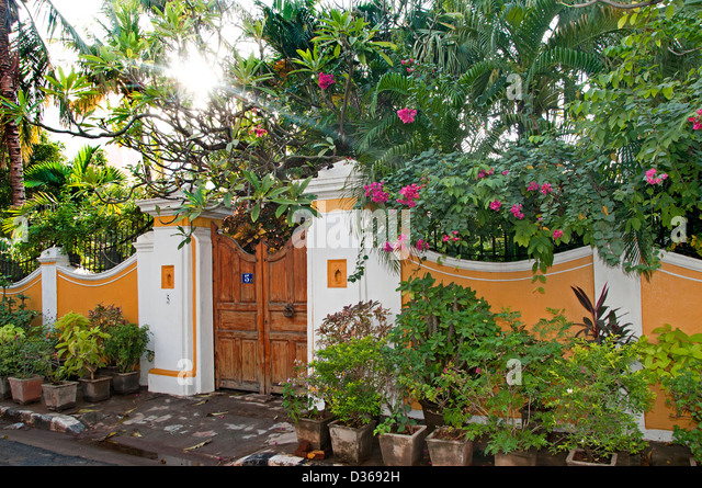 Image result for old village house with garden flowers in tamilnadu