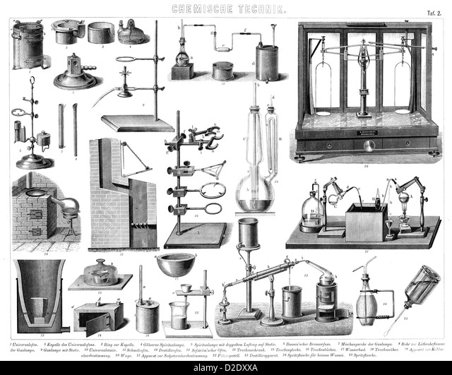 Chemical Laboratory History Stock Photos & Chemical