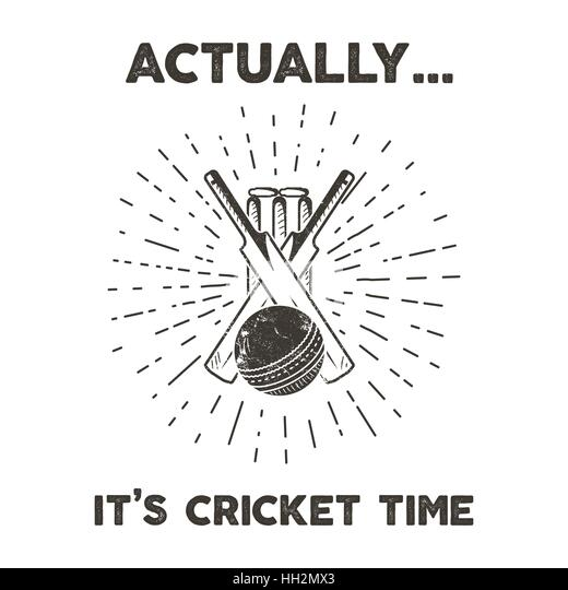 Cricket Poster Stock Photos & Cricket Poster Stock Images