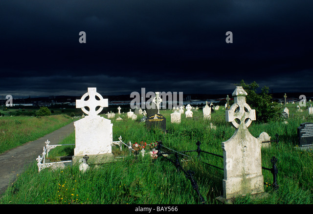 Risultati immagini per graveyard overlooking murlough bay, northern ireland