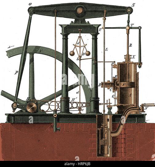 james watt steam engine diagram rj45 cat6e wiring stock photos & images - alamy