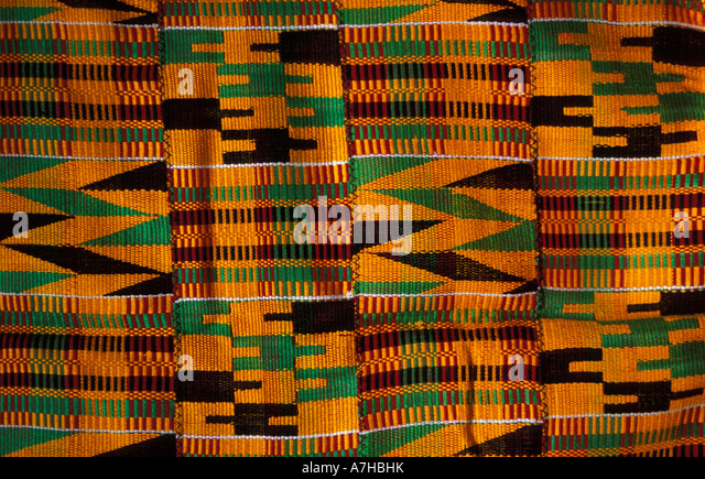 Kente Cloth Stock Photos & Kente Cloth Stock Images