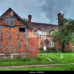 Outside Hanging Chair Uk Office Depot Mat Brick Farmhouse Stock Photos & Images - Alamy