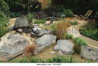 Feng Shui Garden Design Pamela Stock Photos & Feng Shui