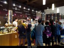 People Inside Tutto Gelato, A Gelato And Ice Cream Shop In ...