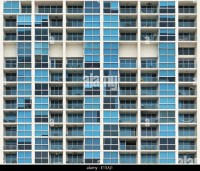 Apartment Building Apartments Windows Balcony Stock Photos ...