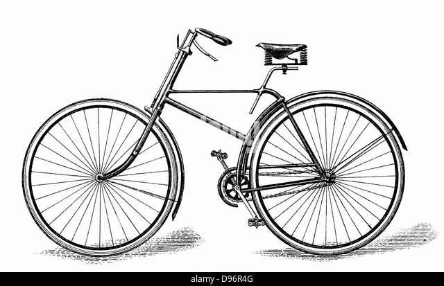 Singer's Special Safety Bicycle (c1886). Chain-driven