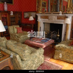 Revolving Chair For Salon Cheap Dining Chairs Sale Victorian Drawing Room Stock Photos & Images - Alamy