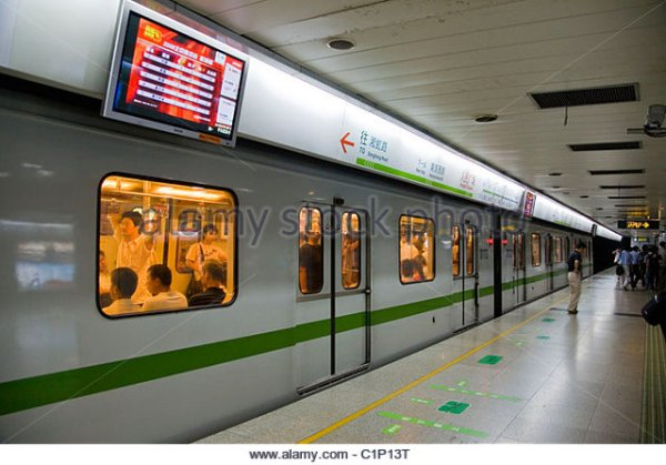 Shanghai Metro Stock Photos Shanghai Metro Stock Images