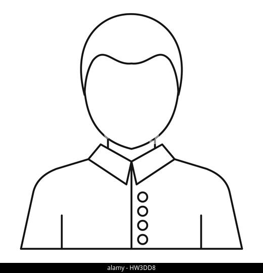 Face Profile Outline Stock Photos & Face Profile Outline