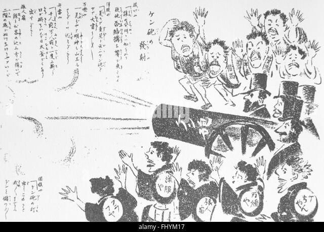 Caricature Japan Stock Photos & Caricature Japan Stock