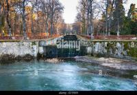 Frozen Pond Fountain Stock Photos & Frozen Pond Fountain ...