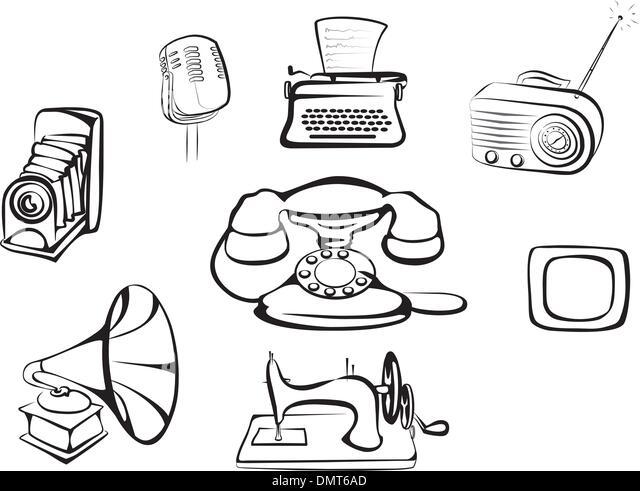 Typewriter 1950s Stock Photos & Typewriter 1950s Stock