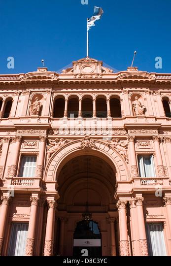 La Casa Rosada Stock Photos  La Casa Rosada Stock Images  Alamy