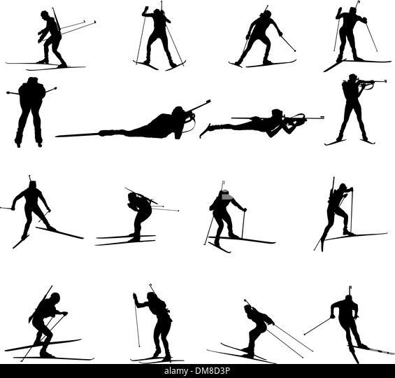 Biathlon Athletes Stock Photos & Biathlon Athletes Stock