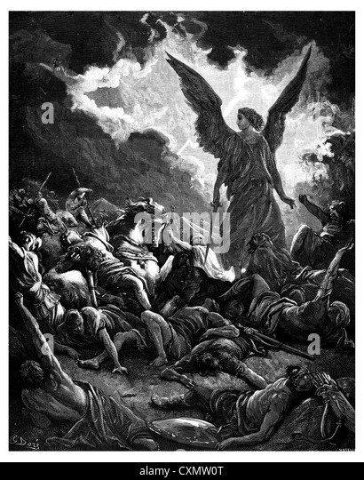 Image result for and angel kills 185,000 in the Assyrian army