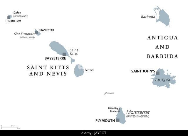 Montserrat West Indies Stock Photos & Montserrat West