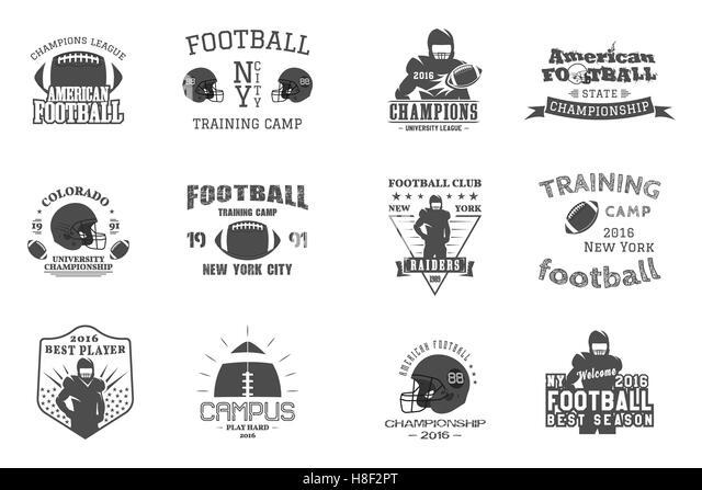Football Badges Stock Photos & Football Badges Stock