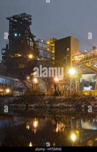 Blast Furnace Plant Stock Photos & Blast Furnace Plant