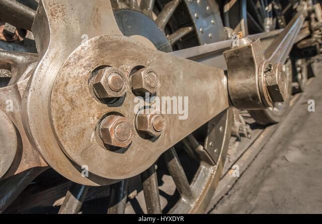 Nuts Bolts Railway Stock Photos & Nuts Bolts Railway Stock