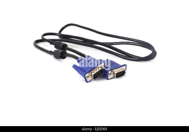 Monitor Cable Stock Photos & Monitor Cable Stock Images