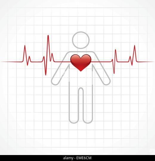 Electrocardiogram Man Stock Photos & Electrocardiogram Man