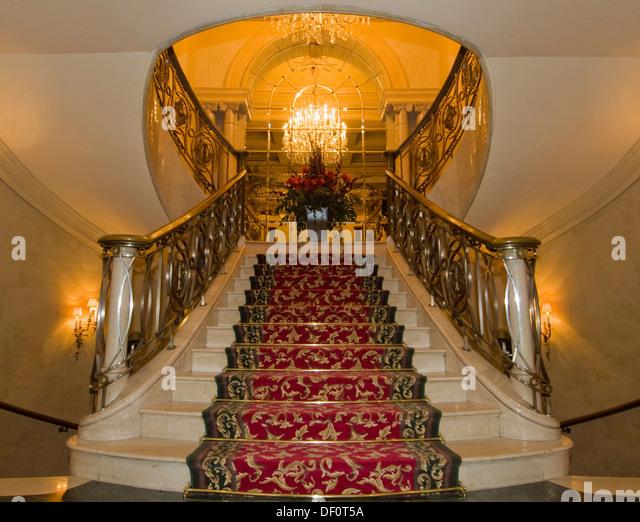 Grand Hotel Lobby Staircase Stock Photos & Grand Hotel