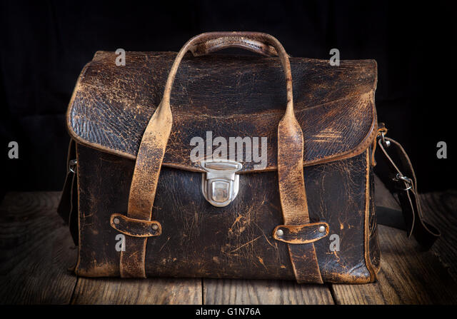 Image result for leather bag old