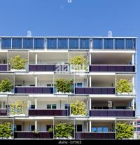 Apartment Building Balconies Stock Photos & Apartment ...