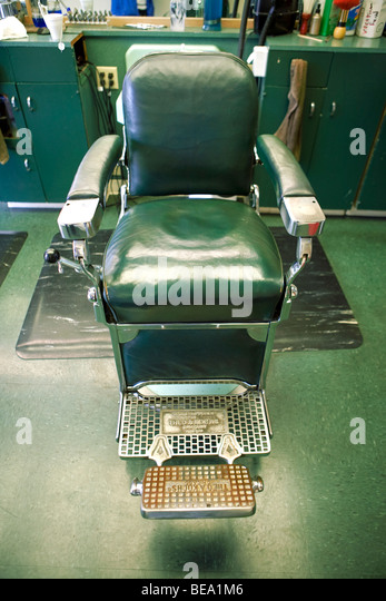 Old Fashioned Barber Shop In Stock Photos  Old Fashioned