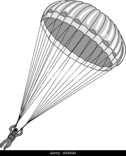 Black Parachute Stock Photos & Black Parachute Stock