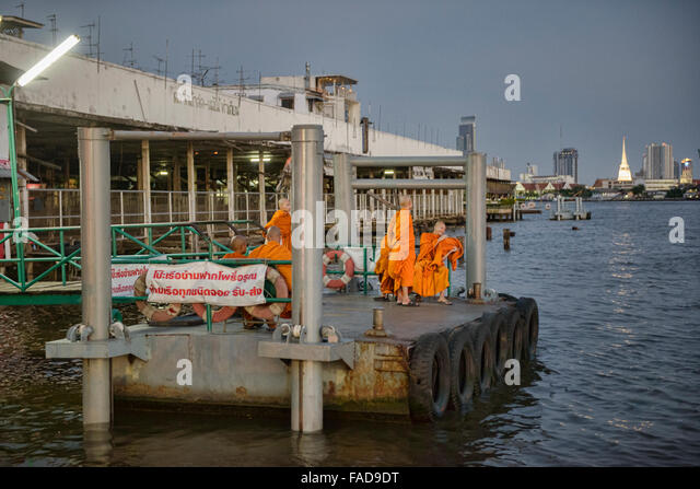 Image result for bangkok local express boat waiting