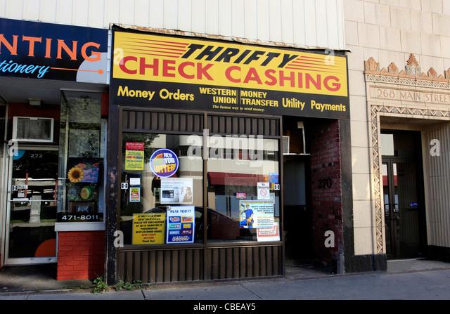 Check Cashing Store Stock Photos  Check Cashing Store