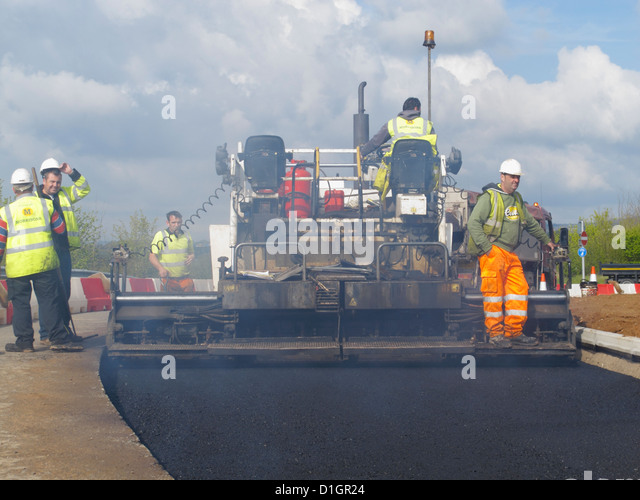 Road Works Gang Stock Photos  Road Works Gang Stock Images  Alamy