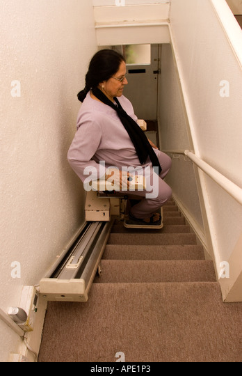 office chair for short person pedicure accessories stair lift stock photos & images - alamy