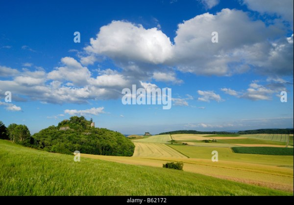agricultural landscape in southern