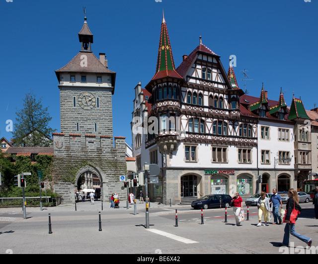 Das Schnetztor Konstanz Stockfotos  Das Schnetztor