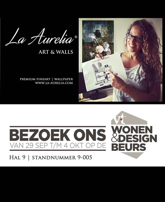 La Aurelia op VT Wonen en Design beurs 2015!