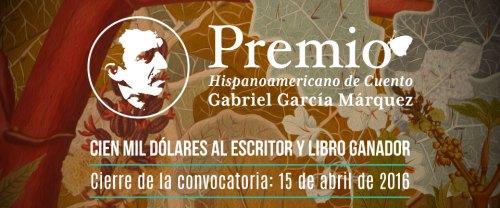 III Premio Cuento Gabriel García Márquez