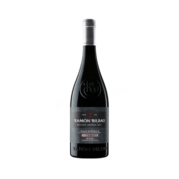 edición limitada del vino ramón bilbao