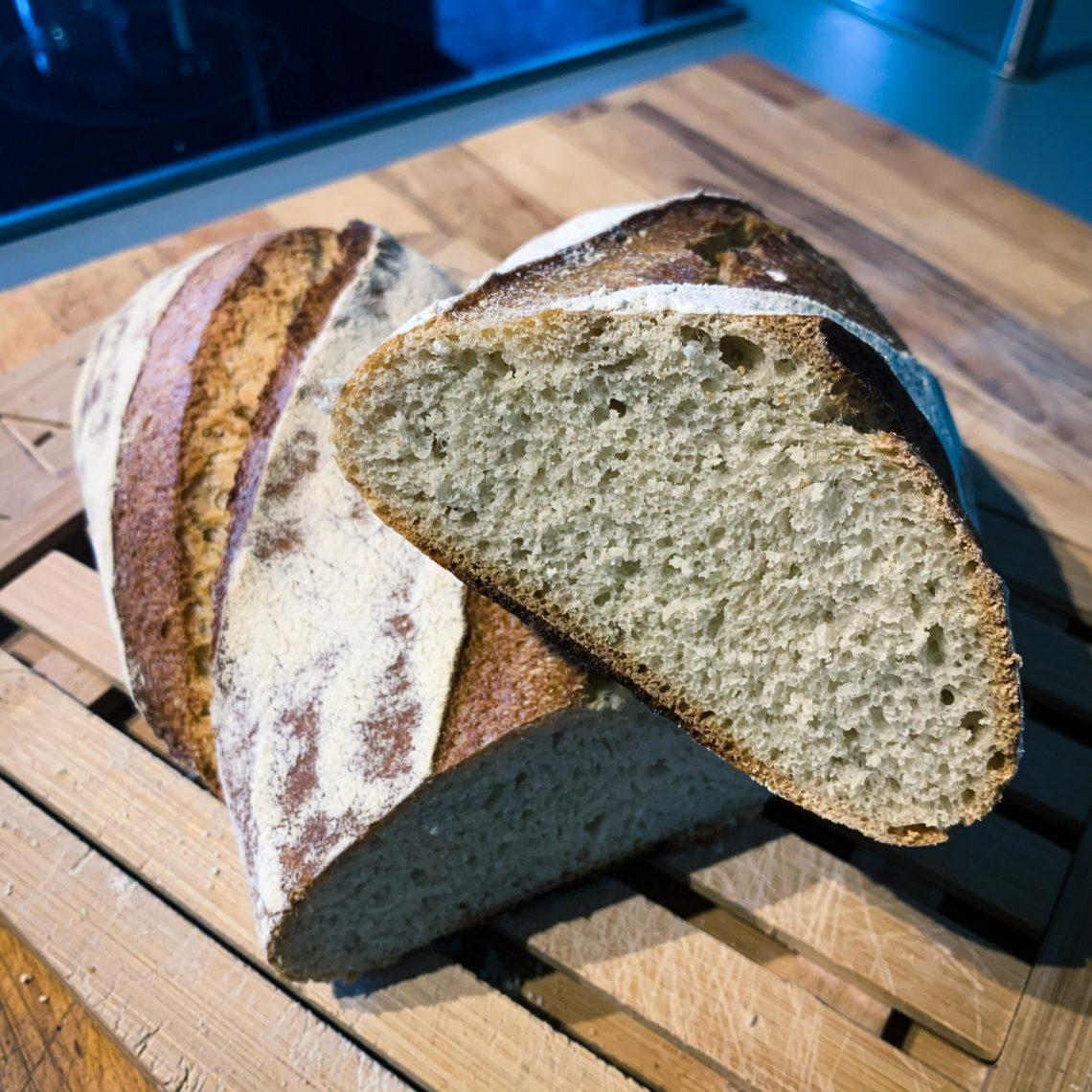Recette du pain blanc ou pain courant