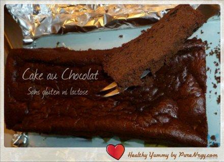 cake chocolat moelleux sans gluten