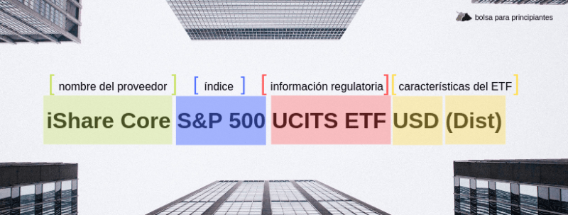 ETF nombre explicación