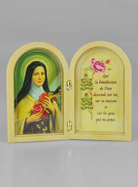 Sainte Thérèse De Lisieux Prière : sainte, thérèse, lisieux, prière, Icône, Diptyque, Sainte, Thérèse, Lisieux, Prière, Bénédiction, Boutique, Chrétiens